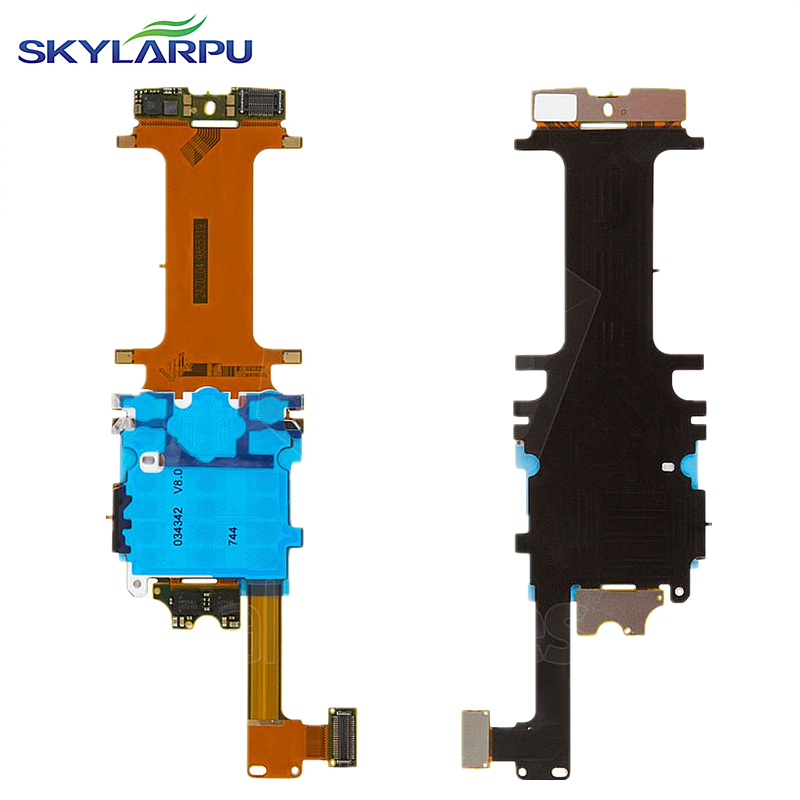 skylarpu Flat Cable for Nokia 8800 Arte Flex cable Flex Ribbon Connector with components Free shipping wide flex cable version 100