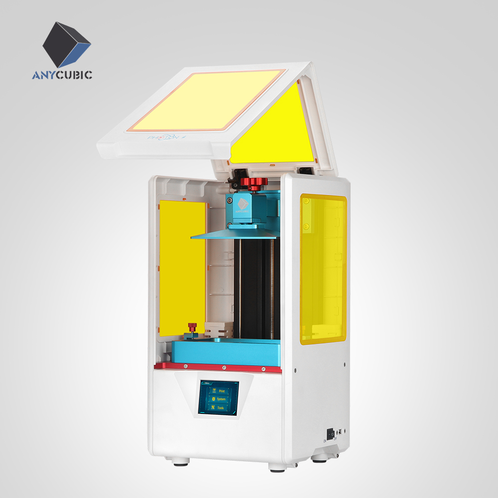 ANYCUBIC Photon S Kit 3D printer with Resin UV Light SLA 2K Screen 2019 Desktop 3D Printer imprimante 3d-in 3D Printers from Computer & Office    1