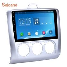 Seicane 9 «Android 7,1/6,0 4 ядра Автомобильный мультимедийный плеер радио gps Navi для 2004-2011 Ford Focus exi MT Встроенная память 16 ГБ + Оперативная память 1 ГБ