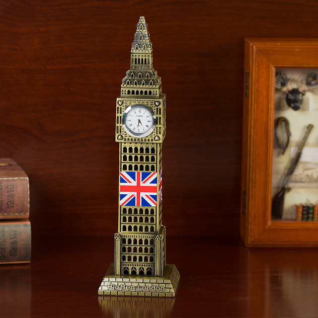 A Keepsake London Ben Clock Decoration Model Gift Bedroom Desk Table Living Room 5 23 5m