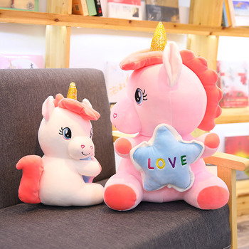 Lucky Star Unicorn Plush Toys