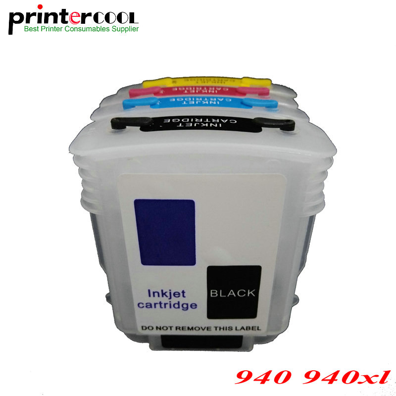 einkshop Compatible Refillable Ink Cartridge for hp 940 <font><b>940xl</b></font> For Officejet Pro 8500 8500a All-in-One 8000 Printer image