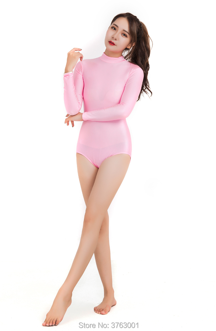 84f6f035c Detail Feedback Questions about Women Ballet Bodysuit Coveralls ...