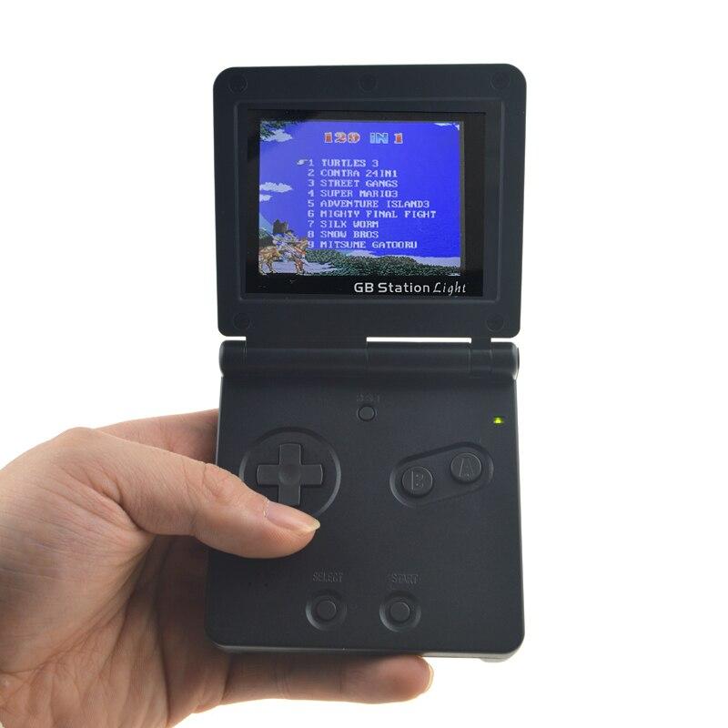 8-Bit Spielkonsole mit Bulit-in 129 Spiele GB Station Licht junge SP PVP Handheld-Spiel-Spieler retro Stil Für Gaming