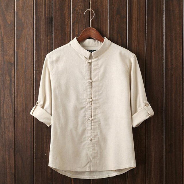 2017 Men Dress Shirt Elegant Comfort Long Sleeve Men Shirt Cotton Solid Slim Fit Business Casual Shirt Men Shirt Plus Size C358