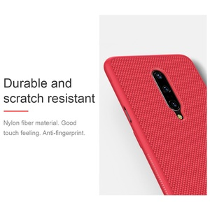 Image 2 - Voor Oneplus 7 Pro Case Oneplus 7 6T Cover Nillkin Geweven Nylon Fiber Case Dunne En Licht Terug Cover voor Een Plus 7 Pro Case