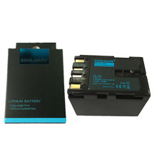SOULMATE BN-V416 lithium batteries pack BN-V416 Digital Camera Battery BN V416 For JVC CU-VH1 GR-33 4000US D20 D200 D2000 D200U