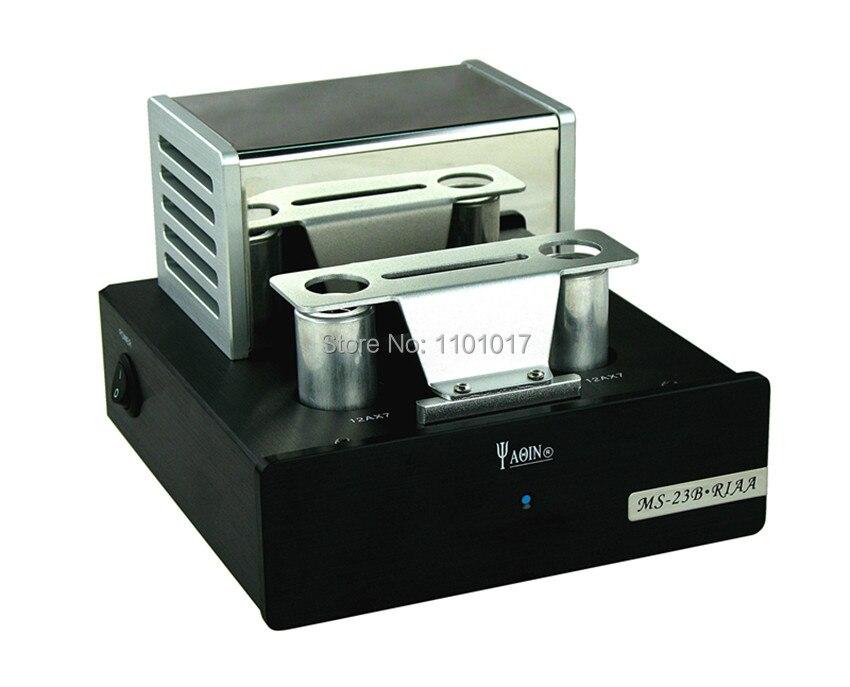 YaQin MS-23B 12AX7 Tube Phono stade pré-amplificateur HIFI EXQUIS vinyle platine pré-préamplificateur - 2