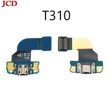 JCD USB Charging For Samsung Galaxy Tab 3 8.0 T310 Dock connector charger charging port USB flex Cab