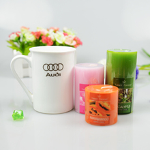 1Pcs Fashion decoration large Aromatherapy smokeless candles Aromatherapy essential oil Wedding candles romantic scented candles