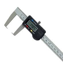 0-150 мм/0-200 мм Цифровой наружный штангенциркуль для измерения пазов электронный наружный штангенциркуль наружный измерительный прибор