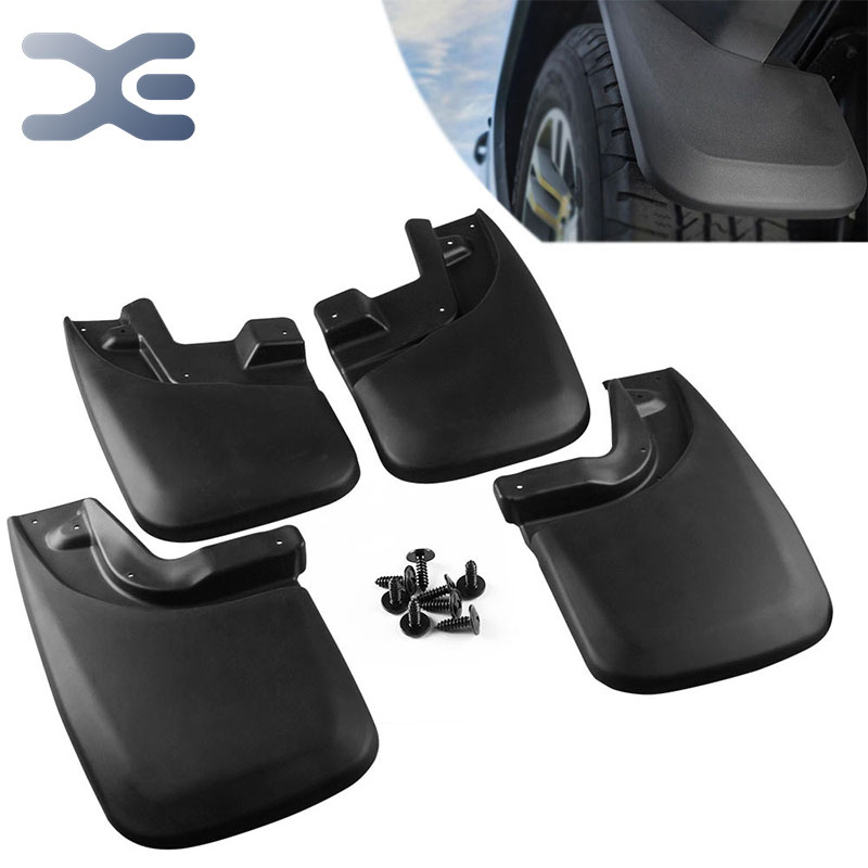 цена на Car Accessories Tyre Mudguard Modification Accessories ABS Plastic Splash Guards Suitable For Toyota Tacoma 2005 - 2015