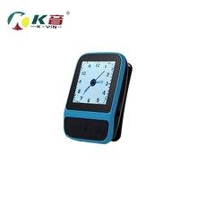 1.4 pulgadas de pantalla 4 gb MP3 Del Deporte Del Reproductor de música HIFI lossless Reloj Pulsera Inteligente Podómetro FM Grabadora de Radio de Música Portátil jugador