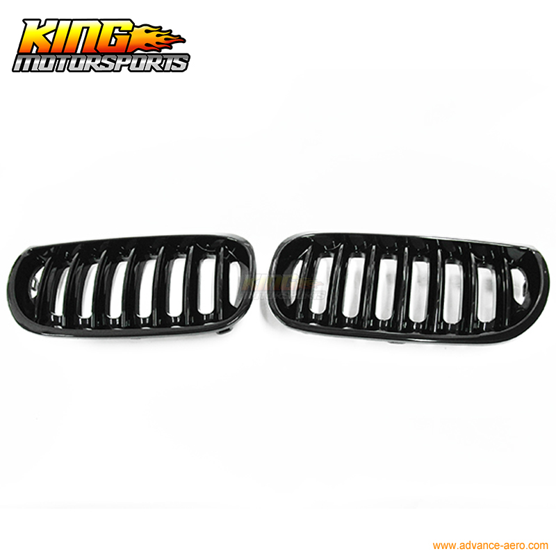 ФОТО Glossy Black Kidney Sport Front Grill For BMW E83 X3 X 3 M Pre-Facelift 04-06
