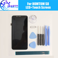HOMTOM S8 LCD Display Touch Screen 100 Original LCD Digitizer Glass Panel Replacement For HOMTOM S8