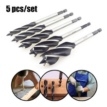 Hole Saw Tool Hexagon Handle Tap Drill Bits Hex Shank Twist Drill Bits Woodworking Hole Saw Cutter Drilling Tools Metal Drilling(China)