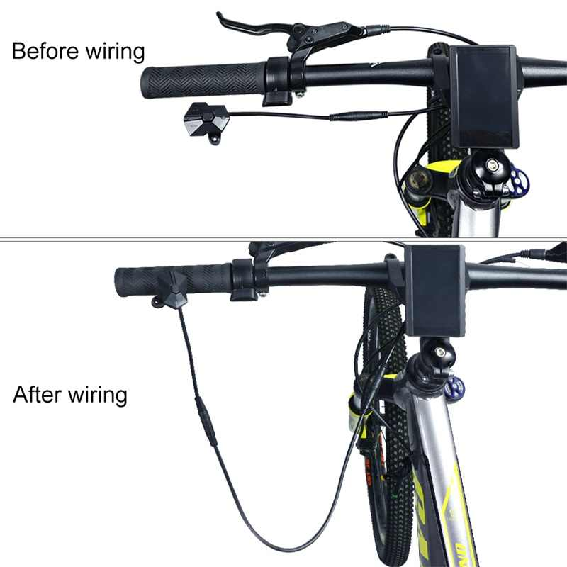 Electric Bike 850C Display Switch Extension Cable for 8fun / Bafang BBS01 BBS02 BBSHD Mid Drive eBike Motor Connection Cable