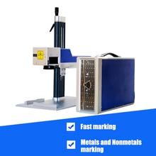 High Precision  Mini Desktop 20w 30W  Raycus Laser Marking Machine For Metal Engraving Laser Marking Machine high precision white spraying laser cutting metal stamping part