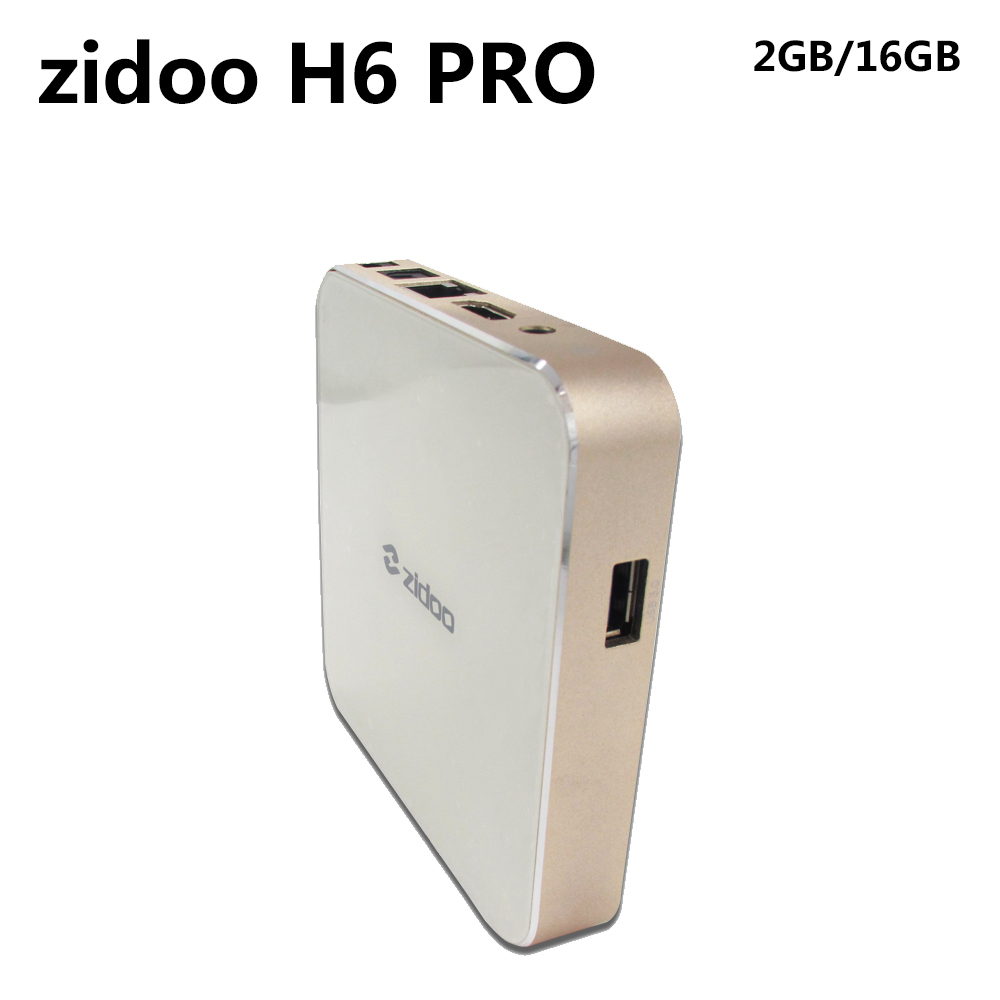 ZIDOO H6 PRO Smart Set Top Box 2GB RAM 16GB ROM Android 7.1 2.4G 5.0G WiFi 1000M Gigabit LAN Bluetooth 4.1 zidoo x6 pro tv box 2g 16g android 5 1 rockchip r3368 wifi bluetooth4 0 1000m ethernet gigabit lan