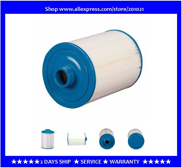 Fine Thread Filter Arcadia - A-TECH Hot Tub Spa Filter  Size 203 X  Diameter 125mm Fit Vortex - O2 Cobalt  Monarch Spas
