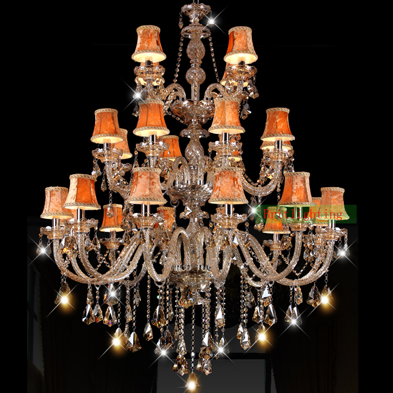 Latin 120cm150cm antique amber crystal chandelier for foyer hall latin 120cm150cm antique amber crystal chandelier for foyer hall wrought iron chandeliers traditional hotel light hanging lamp in chandeliers from lights aloadofball Image collections