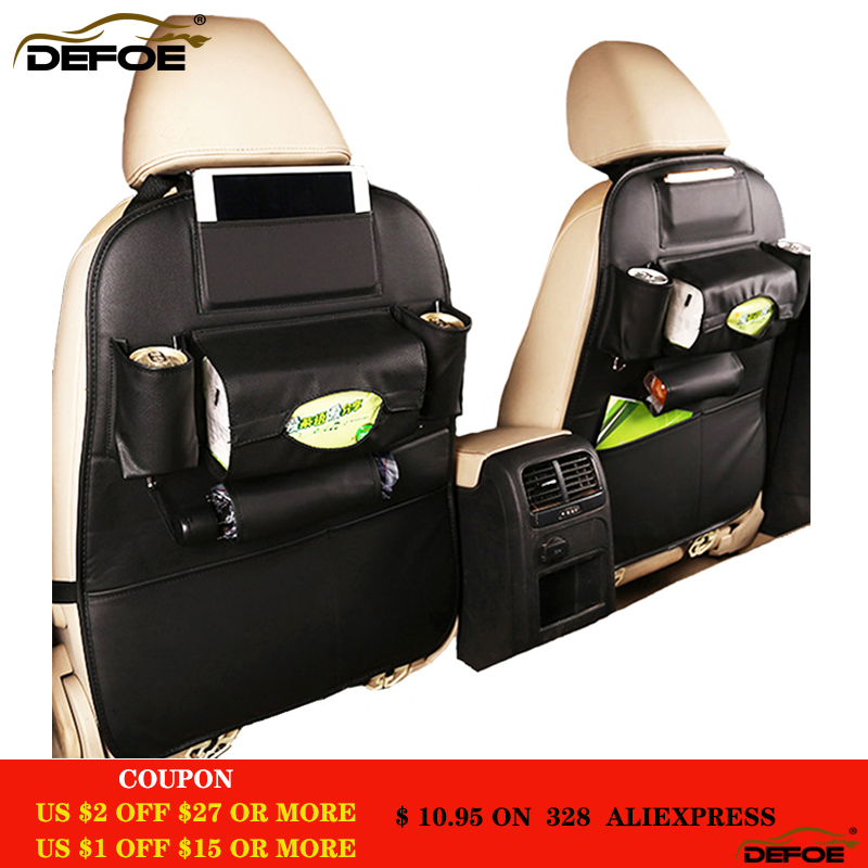 Best quality car seat storage bag creative car seat cover Multifunctional car seat storage box car seat back bag Waterproof free