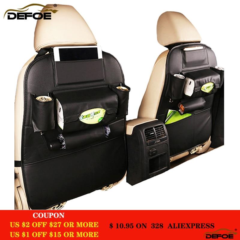 Mejor calidad asiento de coche bolsa de almacenamiento creativo cubierta de asiento de coche multifuncional de almacenamiento de asiento de coche de asiento trasero del coche bolsa impermeable libre