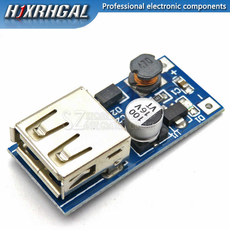 1PCS 0.9V-5V to 5V 600mA DC-DC USB Step-up Power Boost Module PFM Control Mini Mobile Booster image