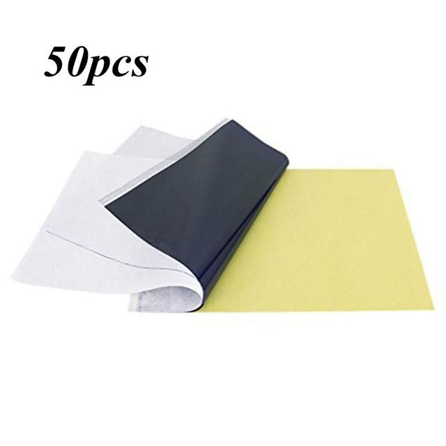 50 Sheets Tattoo Transfer Paper A4 Size Tattoo Paper Thermal Stencil Carbon Copier Paper For Tattoo Accessories Tattoo Supply