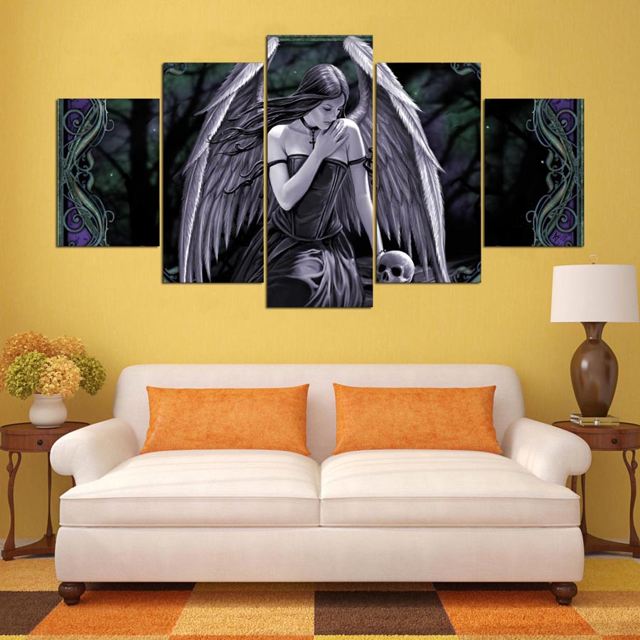 Famous Angel Wall Art Decor Images - All About Wallart - adelgazare.info