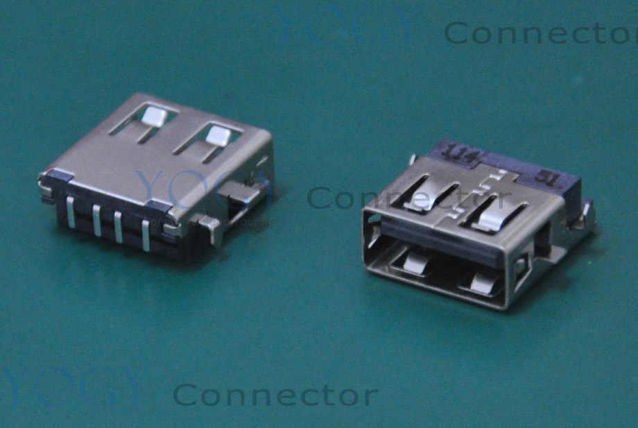 10pcs USB Jack fit for HP Pavilion dv6 1000 TM2-2000, Toshiba Satellite NB305 E205 Series Laptop Motherboard Female USB Port