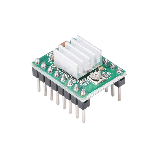 3D Printer Parts Stepstick A4988 DRV8825 Stepper Motor Driver Module With Heatsink Reprap Ramps 1.4/1.5/1.6 Control Board MKS 1