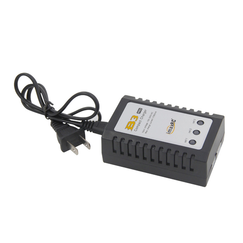 iMaxRC iMax B3 Pro Small 2S 3S Lipo Balance Battery Charger For RC Helicopter US