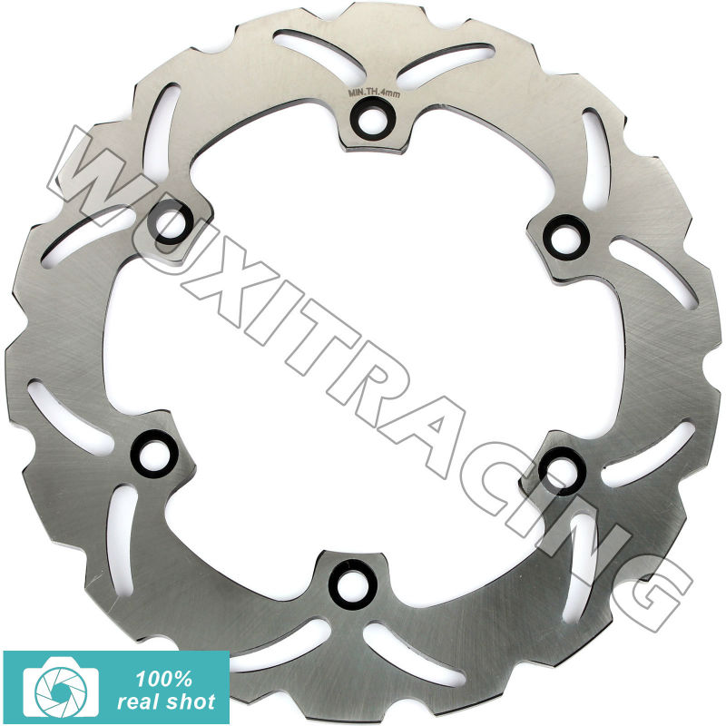 Front Brake Disc Rotor for Honda SH i/ ABS scooter 300 06 07 08 09 10 11 12 13 14 SILVER WING scooter 400 600 01 02 03 04 05 06 wotefusi rear brake disc rotor for fjs 400 600 silverwing sw t 400 a9 scooter c abs [mt104]