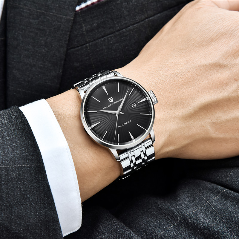 PAGANI DESIGN Mens Fashion Casual Mechanical Watches Waterproof 30M Stainless Steel Brand Luxury Automatic Business Watch saatPAGANI DESIGN Mens Fashion Casual Mechanical Watches Waterproof 30M Stainless Steel Brand Luxury Automatic Business Watch saat