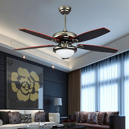 Online Shop V Romantic Ceiling Fan For Living Room Dinning - Ceiling fans with lights for living room