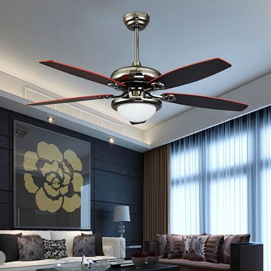 100 240v Romantic ceiling fan for living room, dinning ...