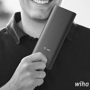 Image 5 - Xiaomi Mijia Wiha Daily Use Screw Kit 24 Precision Magnetic Bits Alluminum Box Screw Driver Tool xiaomi smart home Kit