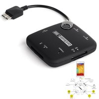 Micro USB 3 0 7 In 1 Host Adapter Connection Kit Card Reader OTG USB HUB
