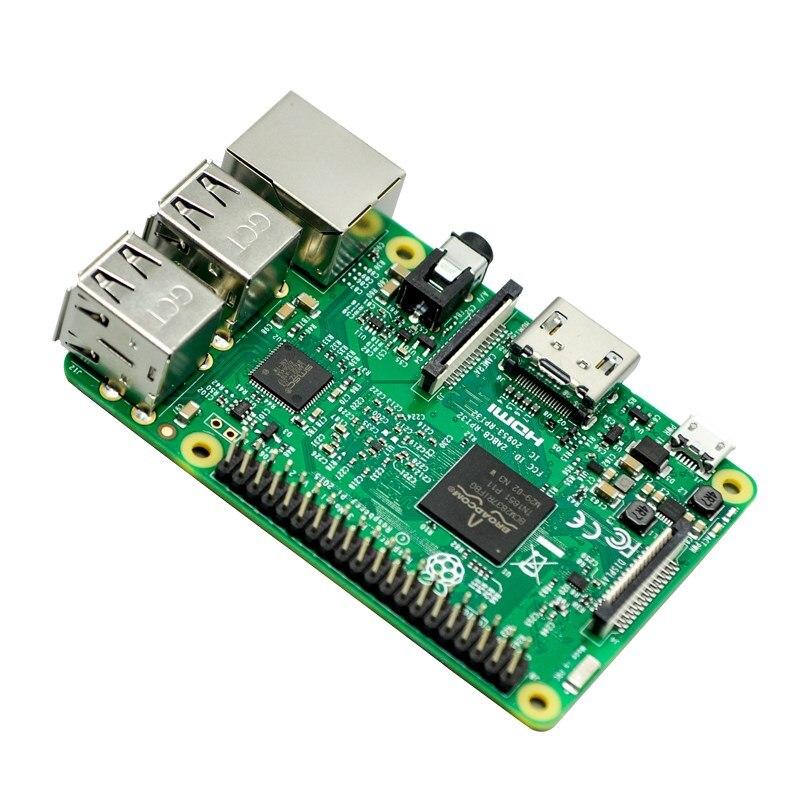 Carte de démonstration Oringnal RS Version Raspberry Pi 3 modèle B + carte Raspberry Pi 3 B Plus carte mère avec WiFi et Bluetooth - 2