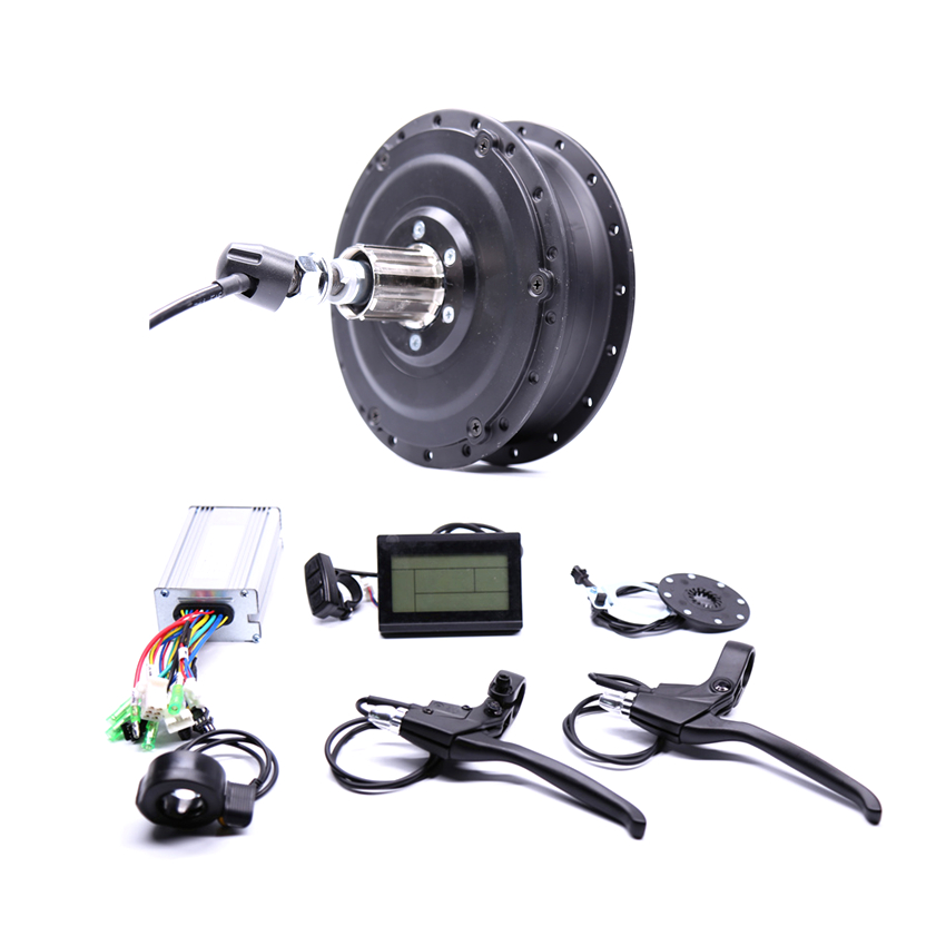 Electric Scooter 2017 48v500w Shengyi Dgw22c Rear Cassette Electric Bike Conversion Kit Brushless Hub Motors With Ebike System eunorau 48v500w electric bicycle rear cassette hub motor 20 26 28 rim wheel ebike motor conversion kit