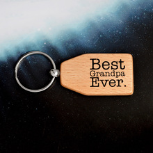 Wooden Keychains Keyrings Mothers Fathers Gifts Key Chains Gifts for Her Birthday Gift Mothers Day Gifts Presents Pendants