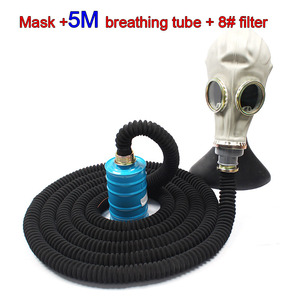 Image 5 - All rubber respirator gas mask classic style Military Edition chemical gas mask Various models Spray paint Toxic gas gas mask