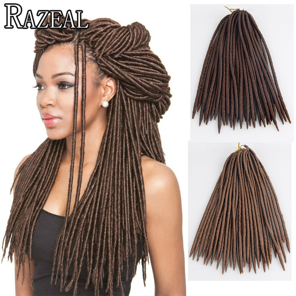 Havana mambo twist braids crochet hair dreadlock extensions 26 strands 100g synthetic dreads - Tresse africaine femme ...