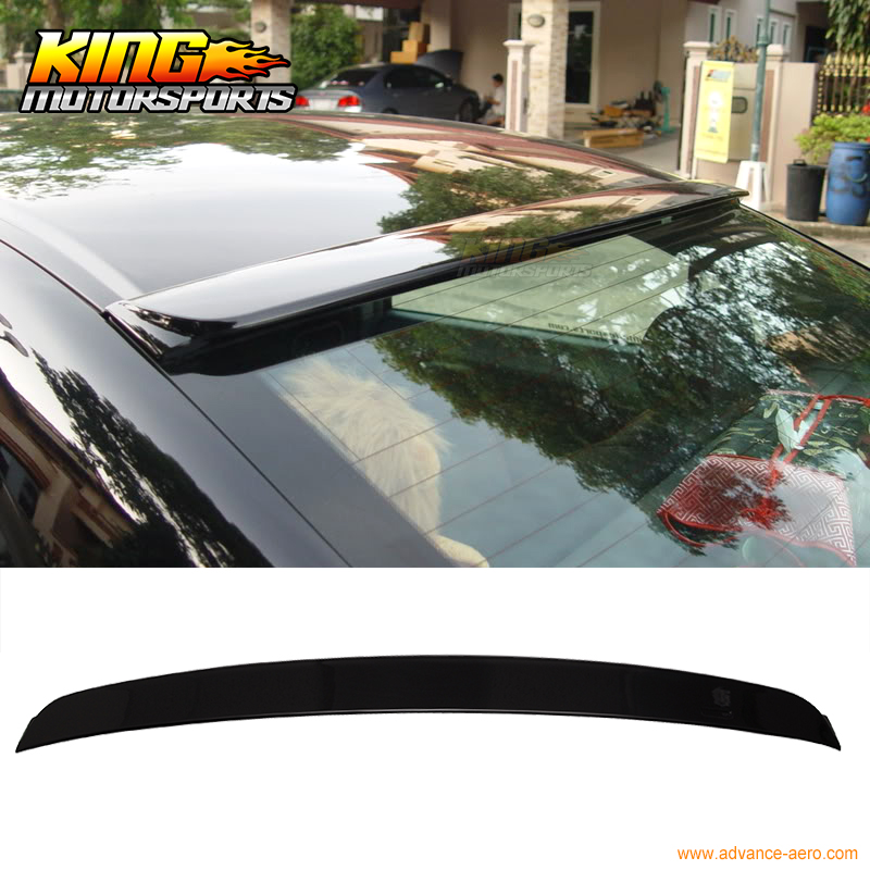For 06-15 Civic 4Dr Roof Spoiler OEM Painted Match Crystal Black Pearl # NH731P for 12 16 bmw 3 series f30 4dr trunk spoiler oem painted match a83 glacier silver