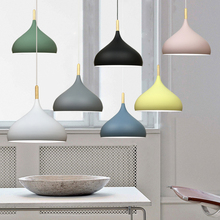 Nordic Minimalism contracted  7 colour droplight, Wood aluminum art home decoration lighting pendant lights nordic contracted pendant lights e27 aluminum pendant lamp household decorative lighting room shop decoration clothing store