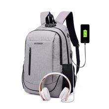 Laamei Student Schoolbag Shoulder Bag Backbag Men s And Women s Backpack  USB Travel Bag Laptop Backpack( dbb92644902b9