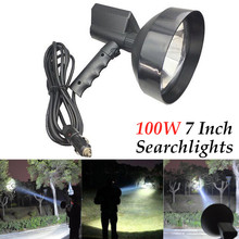 7 inch 12V Super Bright HID XENON Handheld Portable 100W Searchlights Hunting Spotlight Fishing Adventure Lamp car accessories все цены