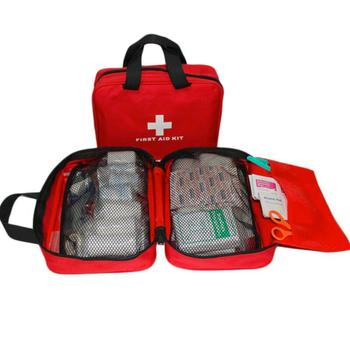First Aid Kit Car Travel First Aid Bag Large Outdoor Emergency kit Bag Camping Survival kits Medical Bag survival red waterproof 2l first aid bag emergency kits empty travel dry bag rafting camping kayaking portable medical bag