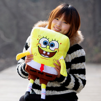 Lovely Plush Spongebob Toy The Cartoon Spongebob Cute Stuffed Toy About 60cm